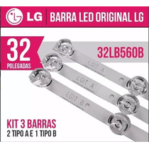 Kit Completo Barras Led Lg 32lb5600 32lb560b 32lb570b Novo!
