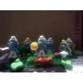 Los Pitufos Smurfs Mega Bloks Hello Kitty Dragones Juguecom