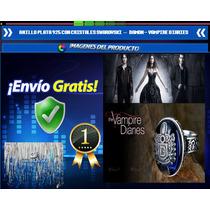 Anillo Plata 925 Swarovski - Vampire Diaries Damon