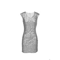 Vestido Lentejuelas Importado, Brishka, M-0011