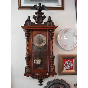 76e53dfbeee Relogio Dourado Com Regulador - Relógios De Parede Antigos no ...