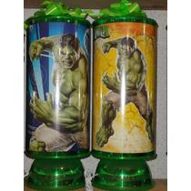 Hulk Recuerdos Centros De Mesa Lamparas Avengers