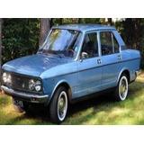 Emblema Fiat 132 Motor 2000 Climatizzata Usado