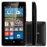 Microsoft Lumia 532 Preto 8gb 3g Mp3 5mp Original   Vitrine
