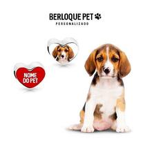 Berloque Personalizado Pet Foto Frente E Verso - Prata 925