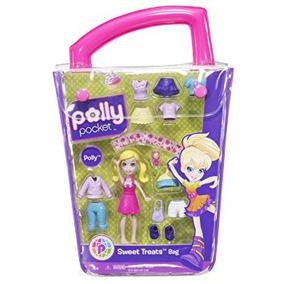 Juguete Polly Pocket Polly Mundo Pequeño Bolso De La M W8