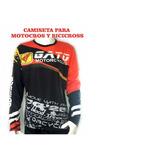 Camiseta Motocross Y Bicicross Personalizadas