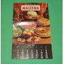 Antiguo Almanaque Recetario Maizena 1983 Calendario Microcen