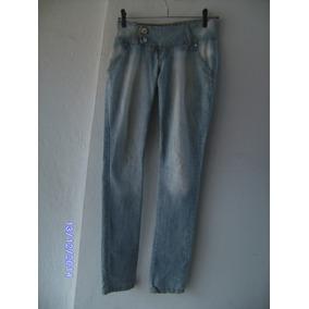 Ca062 Calça Jeans Manequim 36 Planet Girls