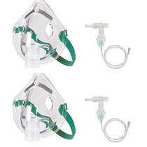 Aerosol Máscara De Oxígeno Con Tubos Kit - Tamaño Adulto 2 J