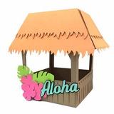 Tenda Quiosque Praia Caixa Havaiana Moana Arquivo Silhouette