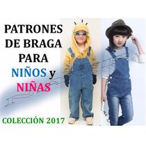 Patron De Braga Unisex De Niño Y Niña Coleccion 2017