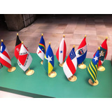Bandeiras De Mesa Dos Estados Brasileiros