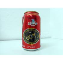 Lata Cerveja Brahma Invasão Country 10 Anos - Vazia