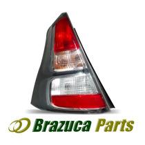 Lanterna Traseira Renault Sandero 2012 2013 Aba Fume