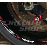 Friso Adesivo Refletivo Roda Moto R02 Suzuki Srad Gsx R 750