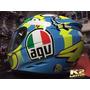 Capacete Fechado Agv K3 Wake Up (relógio) Valentino Rossi 46
