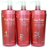 Kit Escova Progressiva Agimax Red Kera-x 1000ml + Brinde