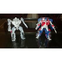 Transformers Rotf Optimus Prime Vs Megatron Fast Action