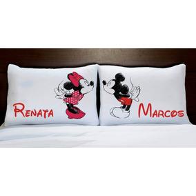 Par De Fronhas Mickey E Minie