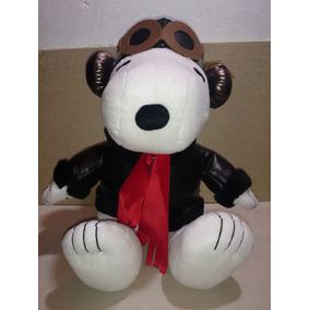 Snoopy ,peanuts,peluche Original, Aviador,piloto.