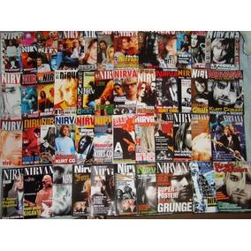 Coleção Revistas Posters Livros Cds Nirvana Kurt Cobain