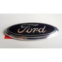 Emblema Ford Tampa Traseira Ka Fiesta Rocam 02/14 Original