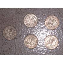 Monedas 20 Pesos Cultura Maya (lote De 5)