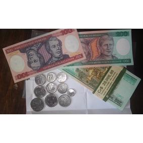 Dinheiro Antigo De 200 Cruzeiros 100 Cruzeiros