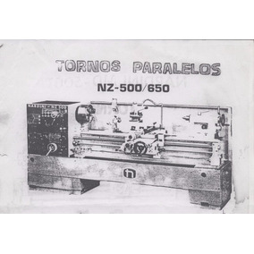 Torno Universal Parealelo Nardini Modelo Nz650/3000