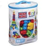 Mega Bloks First Bloques Construccion 80pzas Fisher Price