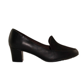 Zapato Mocasin Mujer Piccadilly Combinado Sintetico Negro
