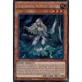 Subterror Nemesis Archer Inov-en082 Secret Yugioh
