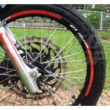 Friso Adesivo Refletivo Rec01 Roda Moto Honda Nx4 Falcon 400