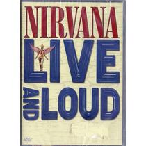 Dvd Nirvana - Live And Loud - Novo***