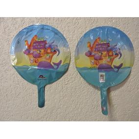 Globos Baby Shower 10 Fiestas Arca De Noe 9 Pulgadas