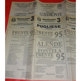 Lote 16 Boletas Elecciones 1991 Prov. Buenos Aires