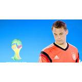 Camisa De Goleiro Infanitl Treino Alemanha Neuer Copa 2014