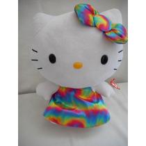 Hermoso Peluche De Hello Kitty Mediano Ty! Reyes Magos