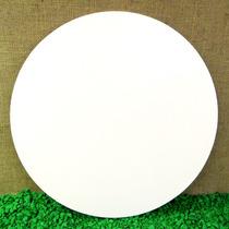 Prato Giratório Mesa Pintura Branca Churrasco 60 Cm