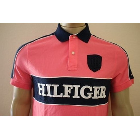 Camisa Polo Tommy Hilfiger Custom Fit Masculina Original