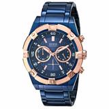 Reloj Guess U0377g4 Para Caballero 100% Original-azul