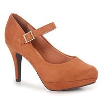 Sapato Boneca Salto Feminino Vizzano - Caramelo