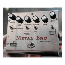Pedal Arcano Arc-metall Distortion Alta Qualidade Profission