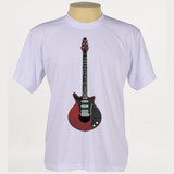 Camiseta Rock - Guitarra, Red Special, Brian May, Queen