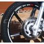 Friso Adesivo Refletivo Rec03 Roda Moto Honda Biz 125 100