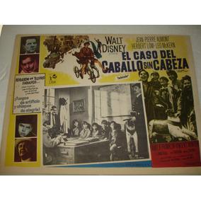 Herbert Lom, El Caso Del Caballo Sin Cabeza, Cartel De Cine