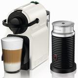 Cafetera Nespresso Inissia White + Aero3 + 16 Caps De Regalo