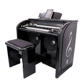 Órgão Eletrônico Acordes Elegance Black Piano. Somos Loja!