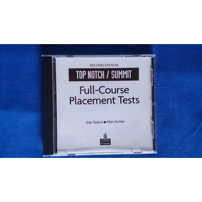 Top Notch Summit Placement Tests Cd Inglés Pearson Longman